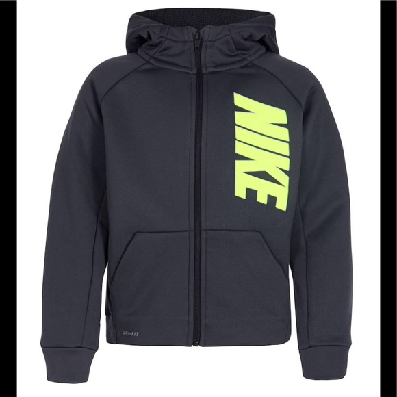 aa28f2f274 Nike Jackets & Coats | Boys Therma Dri Fit Jacket Hooded 4 | Poshmark